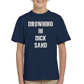 Drowning In Dick Sand Love Island Kid's T-Shirt