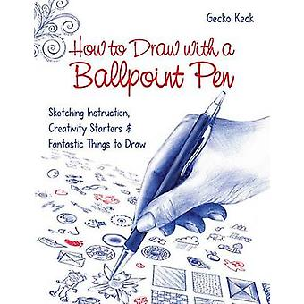How to Draw with a Ballpoint Pen - Sketching Instruction - Creativity