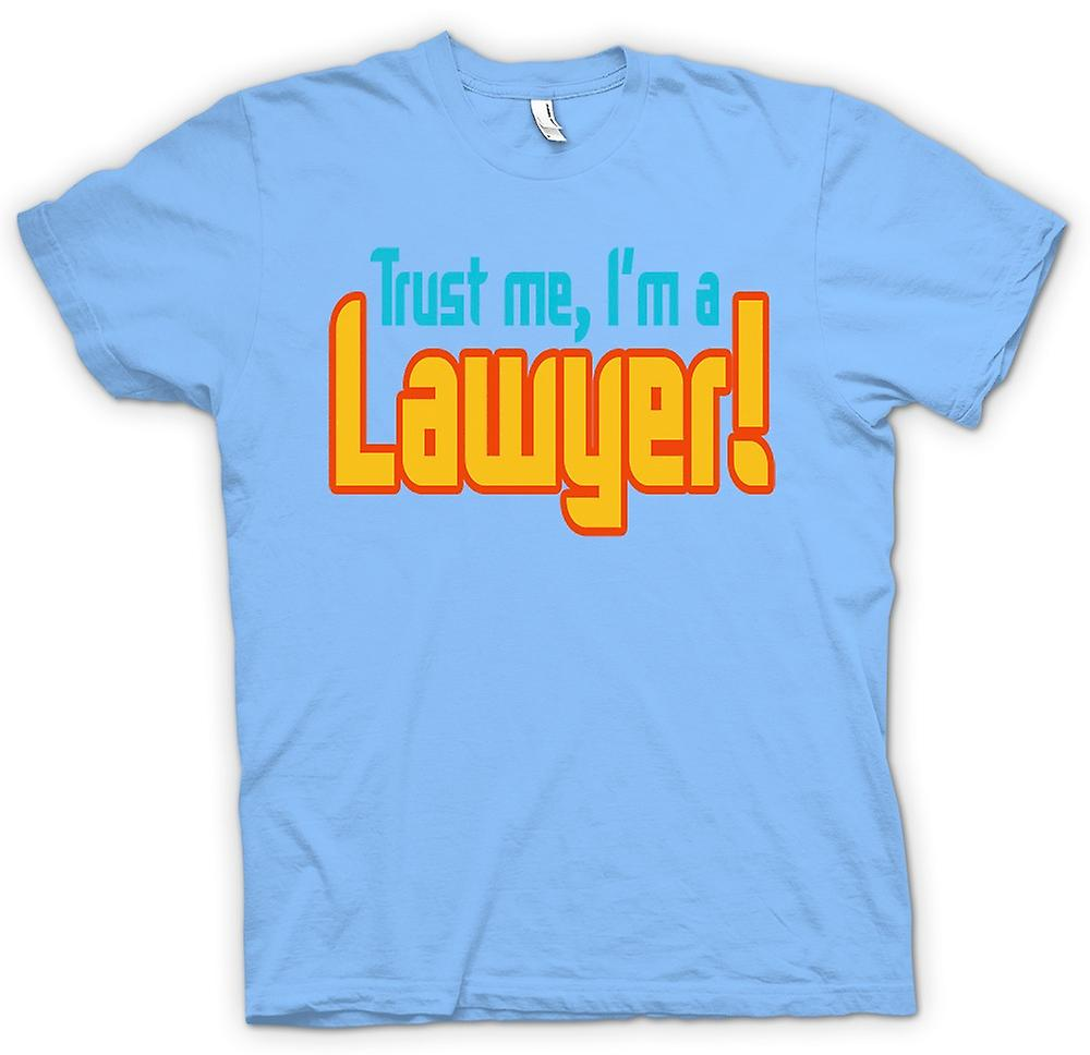 Mens t-shirt - fidati di Me, io sono un avvocato! -Preventivo