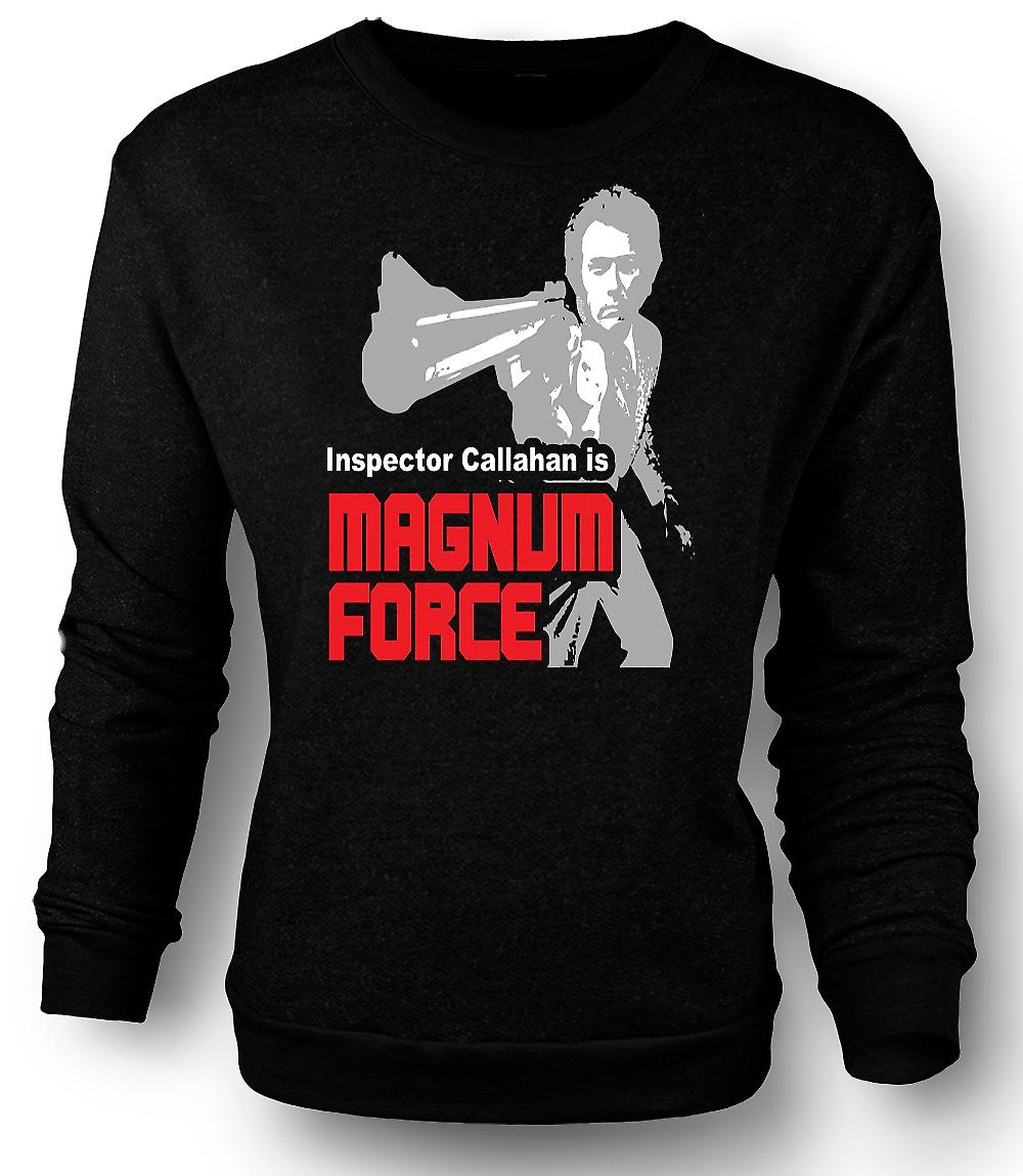Mens Sweatshirt Dirty Harry Magnum Force - Movie