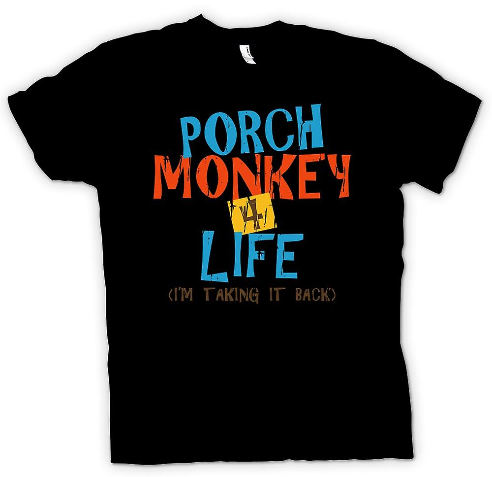Commis de mens T-shirt - porche Monkey 4 Life - inspirés