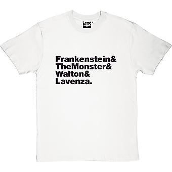 Frankenstein Line-Up Men's T-Shirt