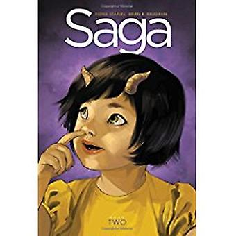 Saga Book Two by Fiona Staples - Brian K. Vaughan - 9781632159038 Book