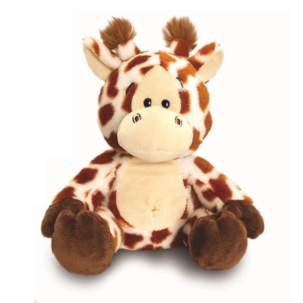 18cm Anizoomals - Super myk & Furry kosete Kosedyr perfekt barn gave - giraff - inkluderer gavepose