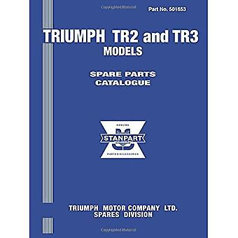 Triumph TR2 and TR3 Models Spare Parts Catalogue: Owners Manual: Part No. 501653