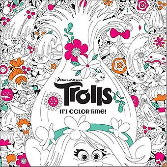It's Color Time! (DreamWorks Trolls) (Adult Coloring Book)