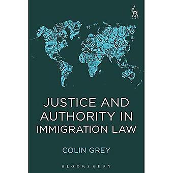 Justitie en de autoriteit in de Immigration Law