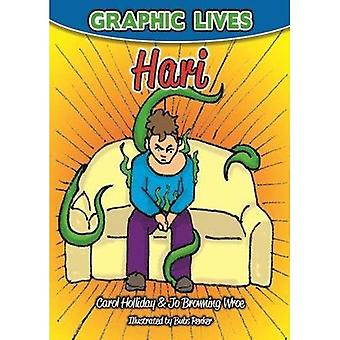Graphic Lives: Hari: A Graphic Novel for Young Adults Dealing with Anxiety� (Graphic Lives)