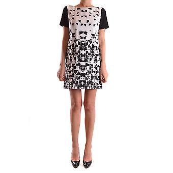 Pinko White/black Polyester Dress