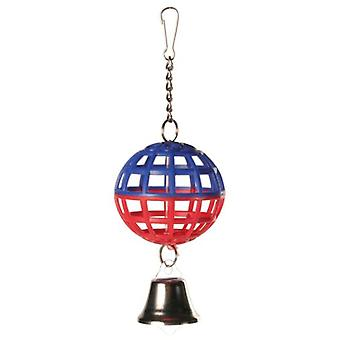 Trixie Cave Ball with Chain and Bell (Birds , Bird Cage Accessories , Toys)