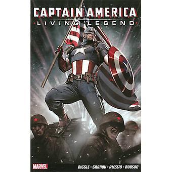 Captain America - Living Legend by Andy Diggle - Adi Granov - Neal Ada