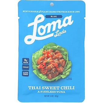 Loma Linda Vegan Plant Based Thai Sweet Chili Fishless Tuna