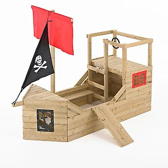TP jouets Pirate galion Playhouse en bois
