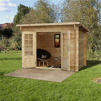 Forest Garden Harwood Log Cabin 3.0 x 2.0m