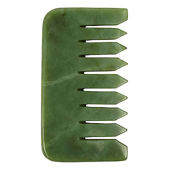 Jade crystal comb - natural chemical free crystal in a signature silk lined box