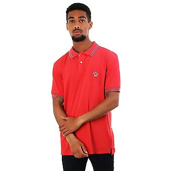 PS Paul Smith Reg Fit Ss Polo With Zebra
