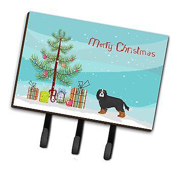 Cavalier King Charles Spaniel Tricolor Christmas Tree Leash or Key Holder