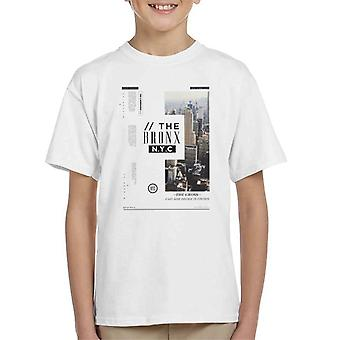 Divide & Conquer The Bronx NYC Kid's T-Shirt