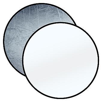 BRESSER BR-TR8 Faltreflektor silber/weiß 110cm rund