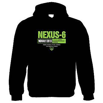 Nexus 6 Blade Runner Inspired Hoodie