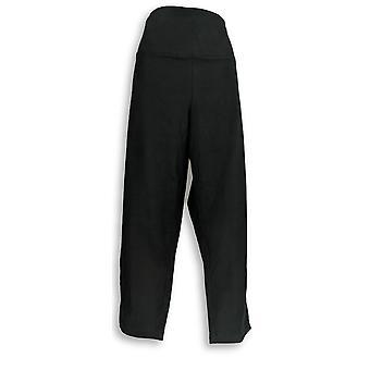 Women with Control Women's Plus Pants Tummy Control Set of Black A344734