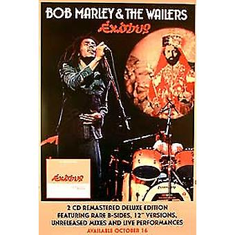 Bob Marley et The Wailers - Exodus (Advance) Original Music Poster