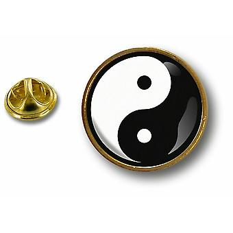 Pins Pin Badge Pin's Metal Button Yin Yang Feng Shui Peace And Loveying