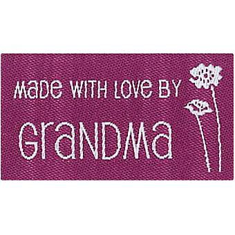 Iron On Lovelabels 4 Pkg Made With Love By Grandma 2500 2584