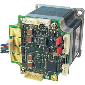 Stepper motor + controller Trinamic PD57-2-1160-TMCL 1.01 Nm Shaft diameter: 6.35 mm