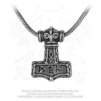 Alchemy Gothic Bindrune-Hammer hanger