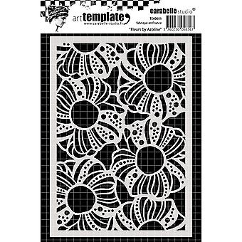 Carabelle Studio Template A6-Flowers TE60051