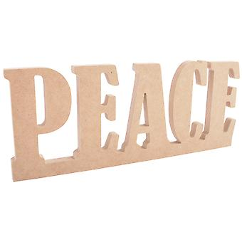 Beyond The Page MDF Peace Standing Word-12.25