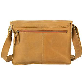 Greenburry Buffalo Chromefree cuero cartera 1980-24