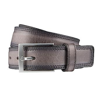 LLOYD Men's belt belts men's belts leather belts men's leather belts grey 3308