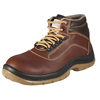 PAWNEE ATP - work & safety shoes leather of boots S2 SRC ESD safety shoes
