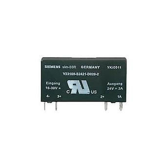 SSR 1 pc(s) Weidmüller SSS Relais 60V/24V 2Adc Current load (max.): 2 A