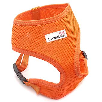 Doodlebone Mesh Harness Orange Large 46-58cm