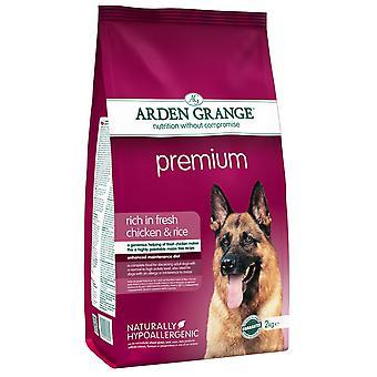 Arden Grange Premium rige i fersk kylling & ris 2kg