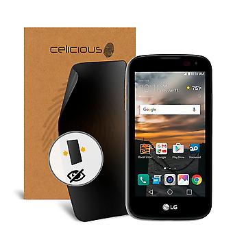 Celicious Privacy LG K3 2-Way Visual Black Out Screen Protector