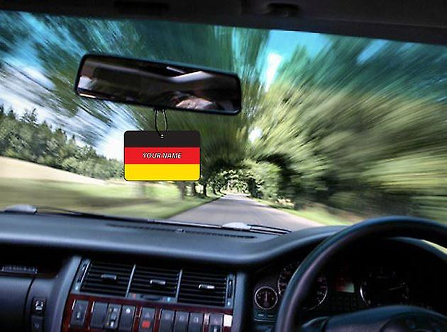 Germany Flag Personalised Car Air Freshener