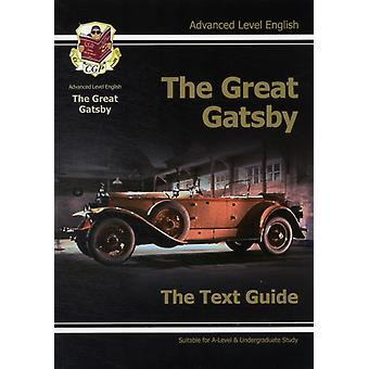 A-Level English Text Guide - The Great Gatsby (Text Guides) (Paperback) by Cgp Books