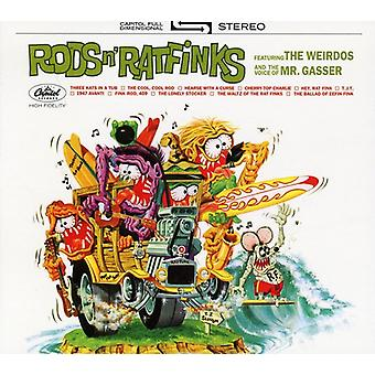 Mr. Gasser & the Weirdos - importazione USA canne & Ratfinks [CD]