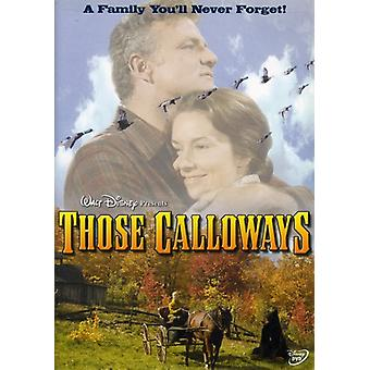 Those Calloways [DVD] USA import