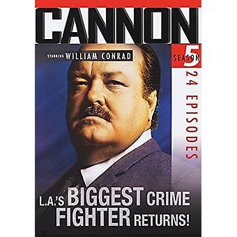 Cannon: Season 5 [DVD] USA import