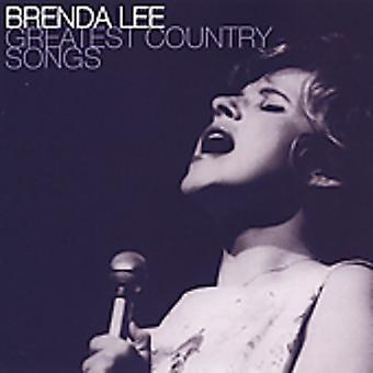 Brenda Lee - største land sange [CD] USA import