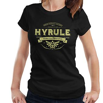 Legend Of Zelda Hyrule Hero Club kvinders T-Shirt