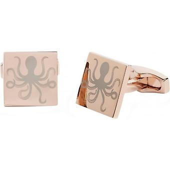 Simon Carter Under The Sea Octopus Cufflinks - Rose Gold