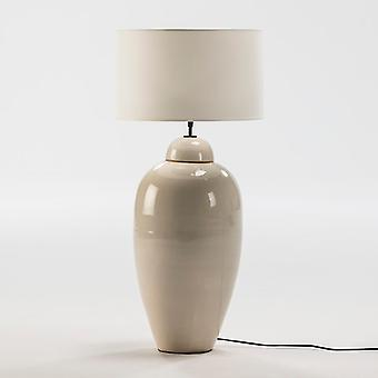 Wellindal Table Lamp 29x67 White Ceramic Without Screen