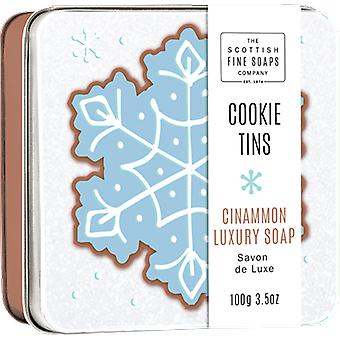 Scottish Fine Soaps Cinnamon Cookie Soap Tin