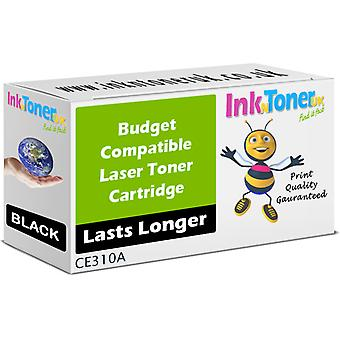 Compatible 126A Blk CE310A Toner for HP LaserJet Pro 100 Colour M175nw